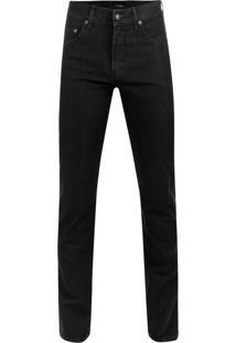 Calça Jeans Denim Black Misto