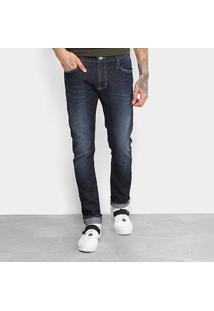 Calça Jeans Skinny Colcci Felipe Masculina - Masculino-Azul Escuro