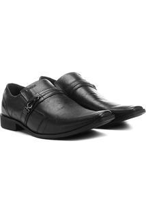 Sapato Social Ferracini Chile - Masculino-Preto