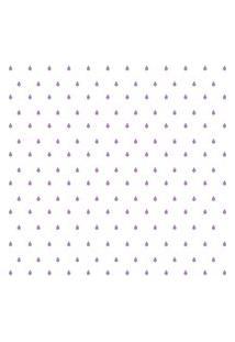 Adesivo De Parede Gotinhas Lilás Para Quarto 151Un Cobre 3M2