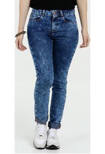 ... Calça Feminina Jeans Skinny Stretch Marisa 447d19c154c
