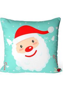 Capa De Almofada Love Decor Avulsa Decorativa Papai Noel