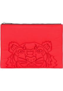 Kenzo Tiger Clutch - Vermelho