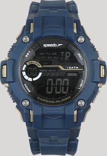 d56a1f237cb CEA. Relógio Masculino Silicone Digital Speedo Azul Marinho - Único  65096g0evnp2