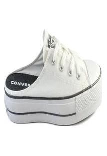 Tênis Converse Chuck Taylor All Star Mule Lift Ct1210 Branco/Preto