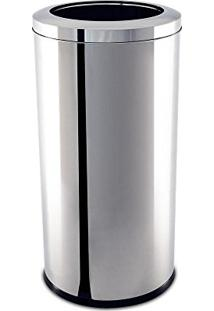 Lixeira Com Aro Decorline Inox 40,5 L 3033205 Brinox