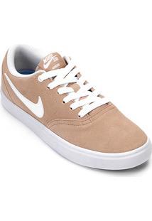 0eb549be546 ... Tênis Nike Wmns Sb Check Solar Feminino - Feminino-Bege+Branco
