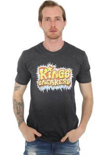 Camiseta Kings Grafite Basic - Masculino
