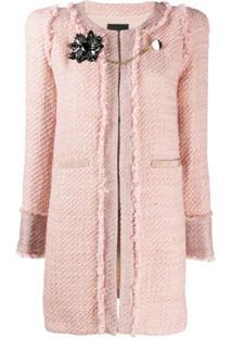 Pinko Straight Fit Jacket - Rosa