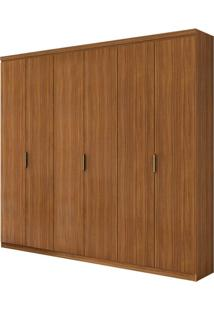 Guarda Roupa Alonzo Plus 6 Portas Rovere Naturale