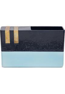 Bitossi Ceramiche Vaso Dim-3 - Azul