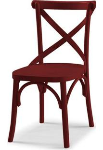 Cadeira X Cor Vinho - 31326 - Sun House