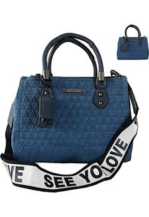 Bolsa Tote Jeans See You Love