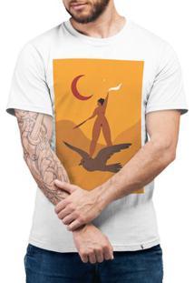 Noite Em Bacurau - Camiseta Basicona Unissex
