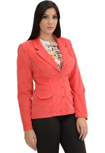 Blazer Energia Fashion Rosa