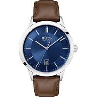 c8baf4d52da Relógio Hugo Boss Masculino Couro Marrom - 1513612