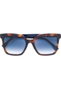 81fce331662b9 R  2030,00. Farfetch Fendi Eyewear Óculos De Sol ...