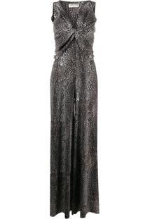 Le Petite Robe Di Chiara Boni Macacão Pantalona Zuzanne - Marrom
