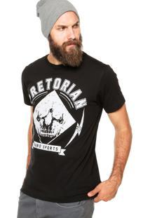 Camiseta Pretorian Skull Ii Preta