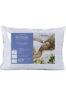 Travesseiro Levitare Multiuso- Branco- 10X50X35Cm