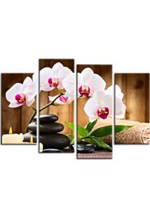 Quadro Oppen House 70X100Cm Flor Orquídea Decorativo Interiores Zen Spa Clínicas