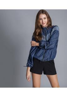 Jaqueta Jeans Ampla Recorte Jeans - Lez A Lez