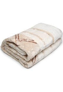 Cobertor Casal Corttex 180X220 Home Design Bege