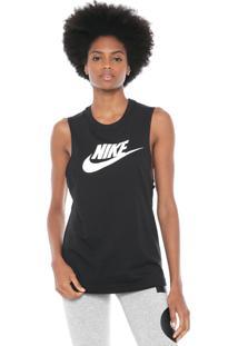 Regata Nike Sportswear Tank Essntl Mscl Futura Preta
