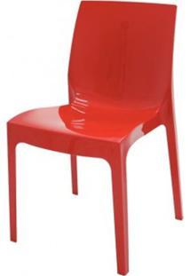 Cadeira Alice Polipropileno Cor Vermelho - 18748 - Sun House