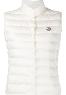 Moncler Sleeveless Padded Gilet - Branco