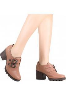 Sapato Dakota Oxford Tratorado