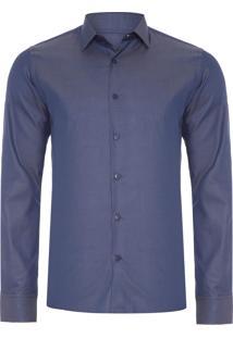 Camisa Masculina Pima – Azul