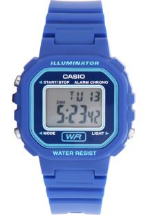 74d377498ee Dafiti. Relógio Digital Feminino Azul Lã Casio Fivela Casual ...