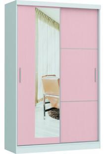 Guarda Roupa Divine Castro 2 Portas 1 Espelho Ref: 3825A