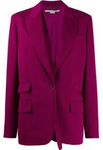 Stella Mccartney Blazer Com Mangas Removíveis - Rosa