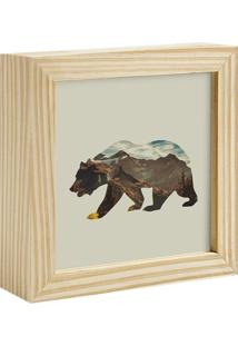 Quadro Decorativo Decohouse Moldura Art Bege