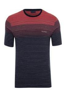 Camiseta Pierre Cardin Lycra Masculina - Masculino