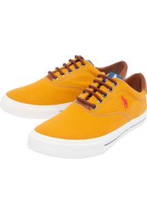 Tênis Polo Hpc Bordado Amarelo