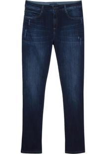 Calca Jeans Dark Blue Puidos (Jeans Medio, 44)