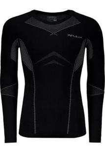 Camisa De Compressão Poker Skin Power X-Ray Iii Masculina - Masculino