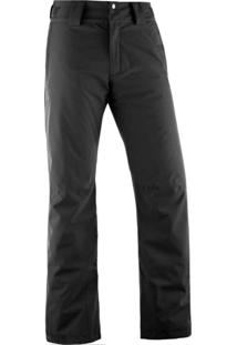 Calça Salomon Strike Insulated Masculino Egg Preto