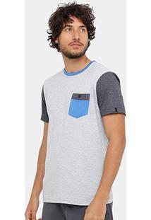 Camiseta Quiksilver Especial Baysic Pocket Masculina - Masculino