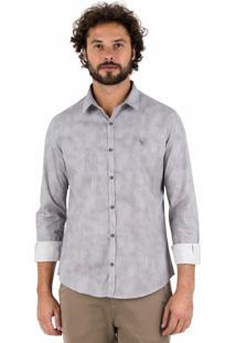 Camisa Side Walk Camisa Wash Cinza