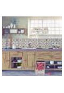 Adesivo De Azulejo Colorido 20X20 Para Cozinha Vila Velha 24Un