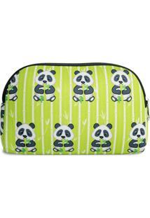 Necessaire Em Neoprene Tritengo - Panda - Feminino