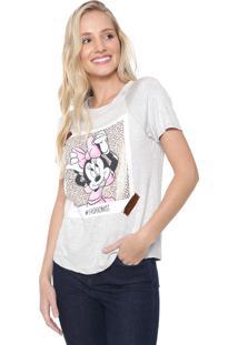 Blusa Cativa Disney Minnie Fashionist Cinza