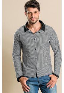 Camisa Listrada Masculina