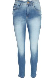 Calã§A Jeans Biotipo Skinny Alice Azul - Azul - Feminino - Algodã£O - Dafiti