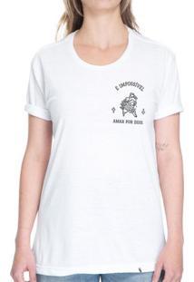 É Impossível Amar Por Dois - Camiseta Basicona Unissex