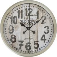448311ea741 Relógio De Parede Rústico Old Town 37Cm